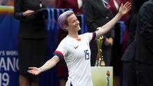 Megan Rapinoe feiert den WM-Titel mit den USA