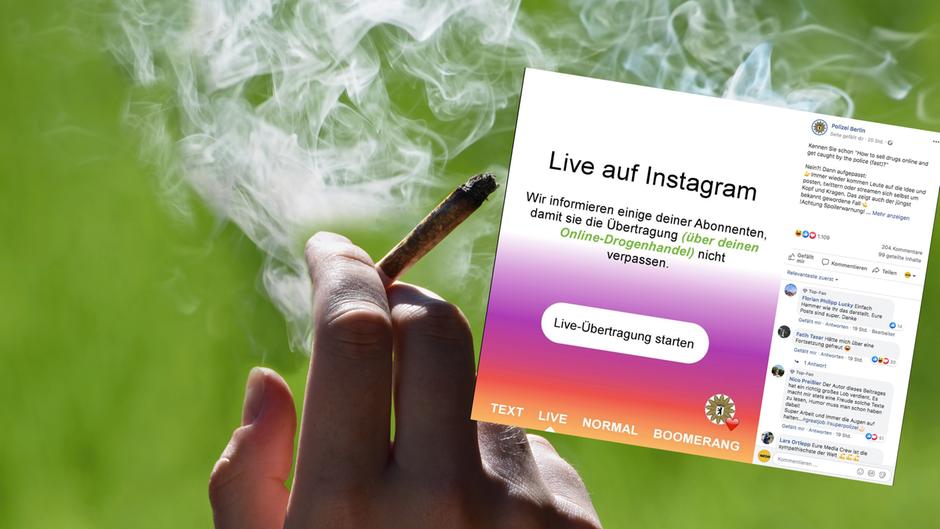Berlin: Frau will Drogen per Livestream verkaufen – Polizei guckt zu