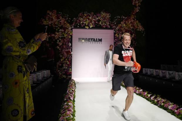 Oliver Pocher bei der Show von Sportalm auf der Fashion Week Berlin