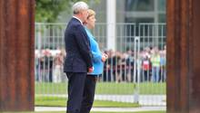 Neuer Zitteranfall bei Merkel