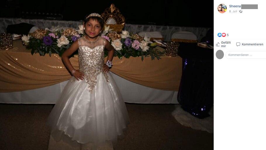 Die kleine Zoe hat den Krebs besiegt und feierte deshalb riesengroß ihren achten Geburtstag