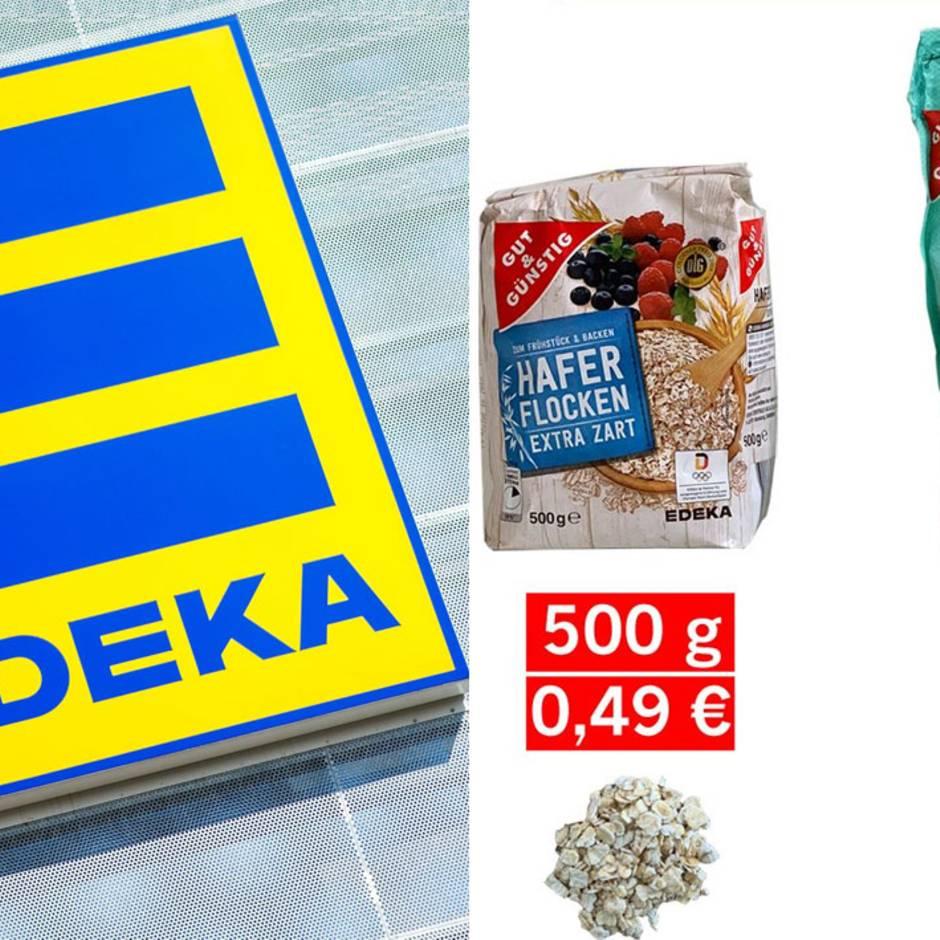 Kritik von Foodwatch : Günstige Haferflocken, überteuertes Porridge? So erklärt Edeka den Preisunterschied