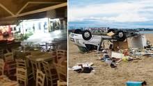 Griechenland: Schwere Unwetter auf Chalkidiki – 6 Urlauber sterben