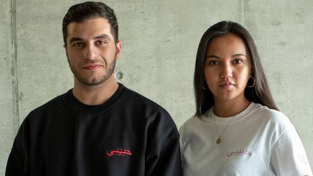Imad El Rayess und Jessica Rees im Portrait