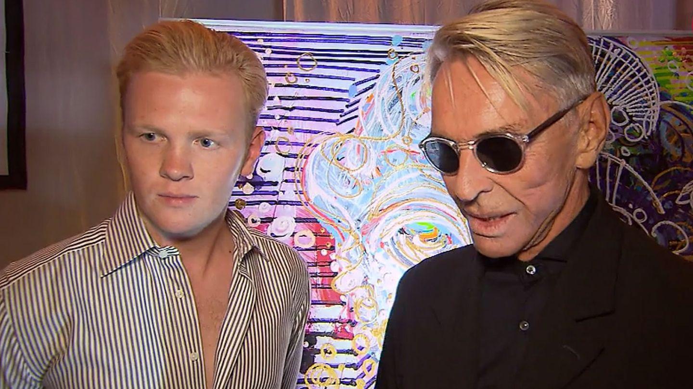 Leon Löwentraut und Wolfgang Joop