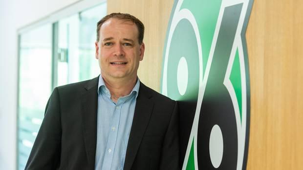 Sebastian Kramer, seit April 2019 Präsident von Hannover 96
