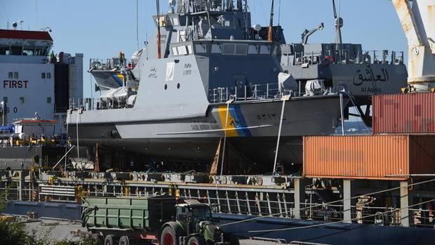 Marineboot für Saudi-Arabien
