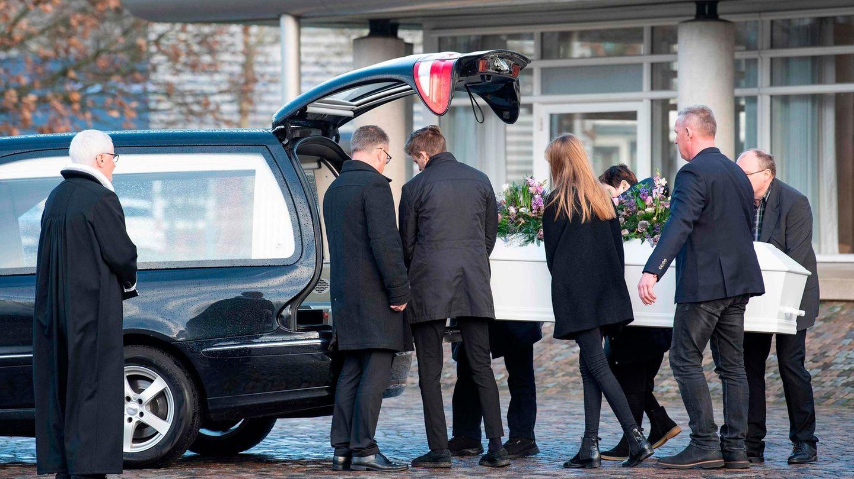 Die ermordete dänischen Studentin Luisa Vesterager Jespersen wird in der Heimat beerdigt