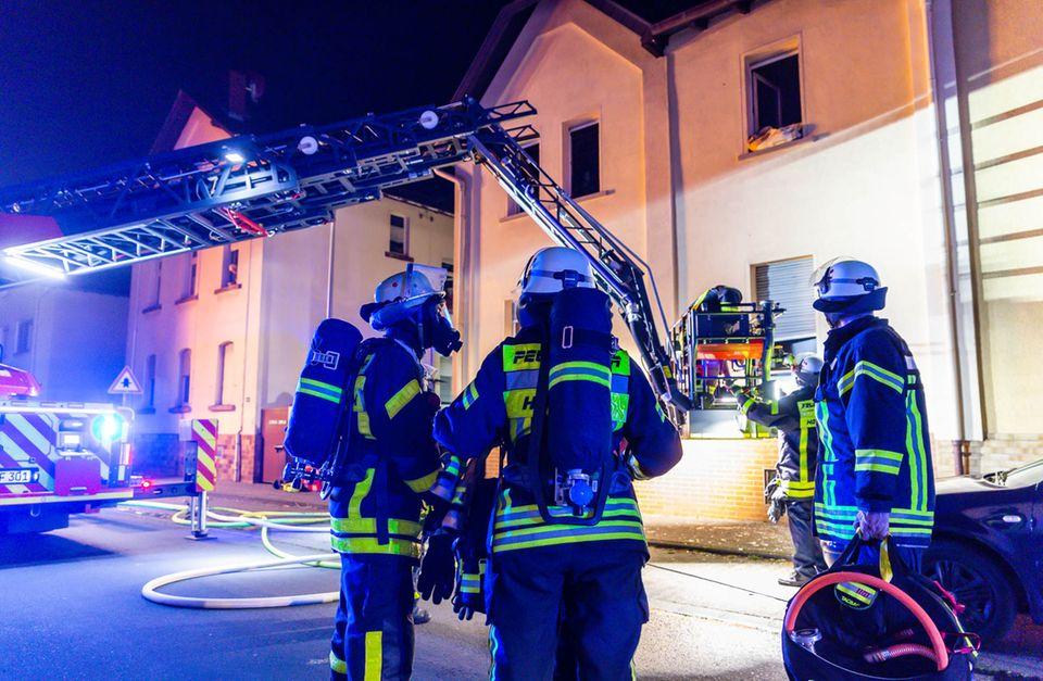 Nachrichten aus Deutschland Feuerwehreinsatz in Kriftel