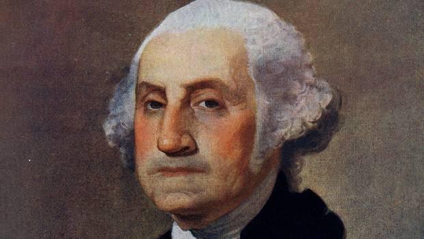Ein Porträt George Washingtons vom Maler Gilbert Stuart (Symbolbild)