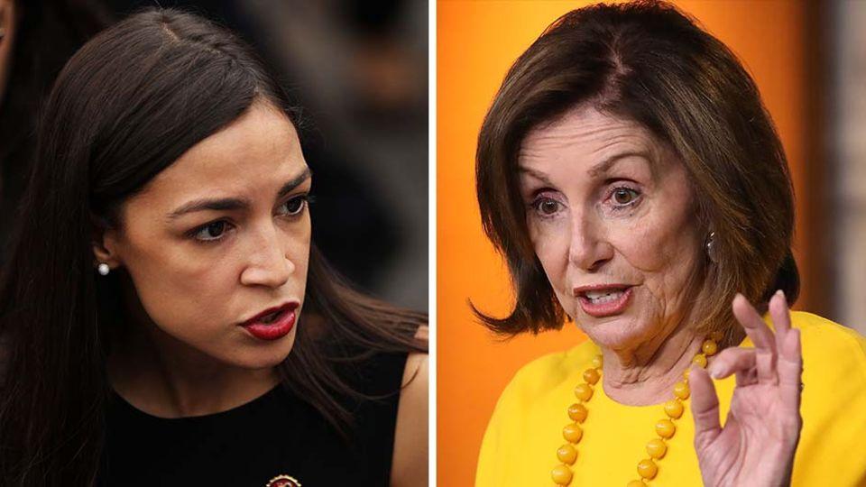 Kampf ums Weiße Haus: Ocasio-Cortez vs. Pelosi: Während die Demokraten noch streiten, eilt Trump davon