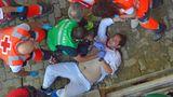 Am Freitag sind allein fünf Menschen verletzt worden.Ein 57-Jähriger wurde von einem der Kampfbullen am Oberschenkel aufgespießt und musste operiert werden.