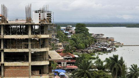 Die kolumbianische Hafenstadt Buenaventura