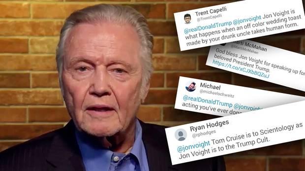 Jon Voight unterstützt Trump auf Twitter