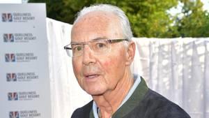 Franz Beckenbauer spricht offen über seine Sehprobleme