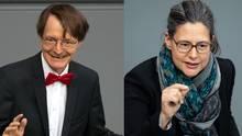 Karl Lauterbach und Nina Scheer