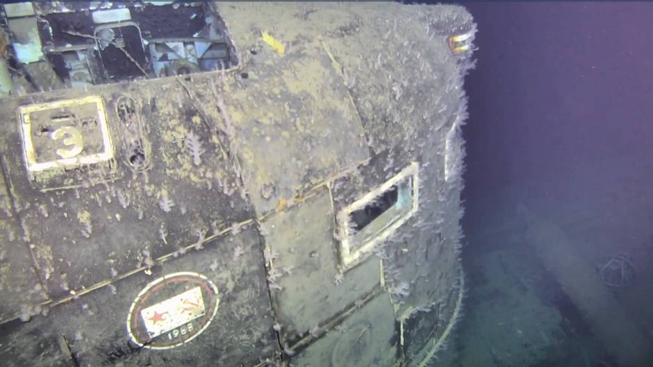"Atom-U-Boot ""K-278 Komsomolez"""