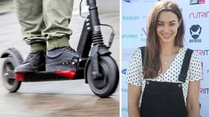 Mit den E-Scootern darf man in Großbritannien nicht auf öffentlichen Straßen fahren. Emily Hartridge wurde nur 35 Jahre alt.