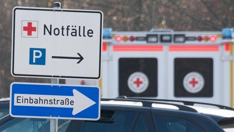 Bertelsmann-Studie über Krankenhäuser in Deutschland: Einfahrt einer Notaufnahme