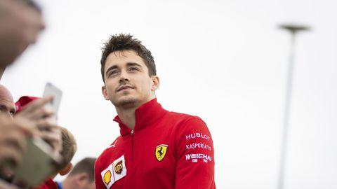 Charles Leclerc beim Grand Prix in Silverstone