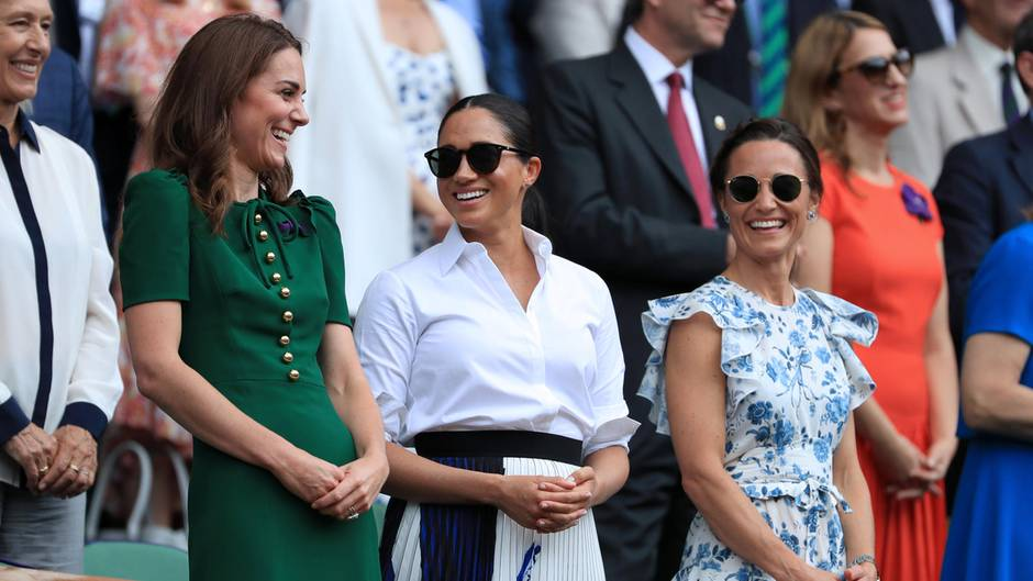 Wimbledon Herzogin Kate, Herzogin Meghan, Pippa Middleton