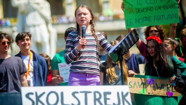 Greta Thunberg, Mitbegründerin von Fridays for Future