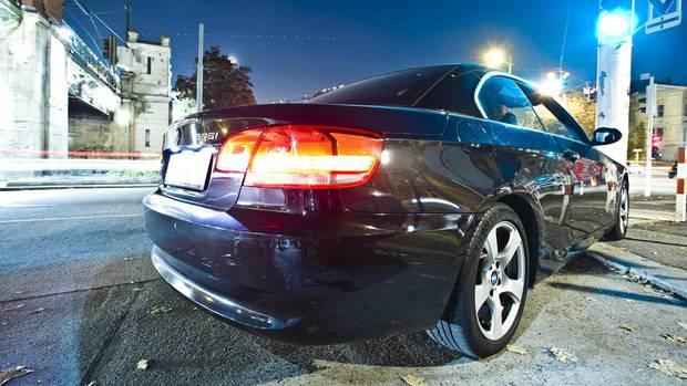 Ein Auto der Marke BMW