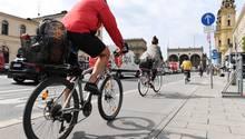 Radfahrer sind im Verkehr gefährdet