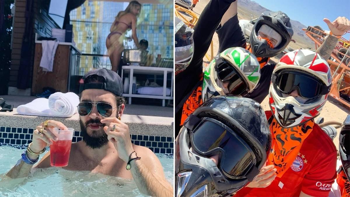 """Bruder Bill organisiert: """"Jets, Nachtclubs, Paintball"""": So wild ging es bei Tom Kaulitz' Junggesellenabschied zu"""