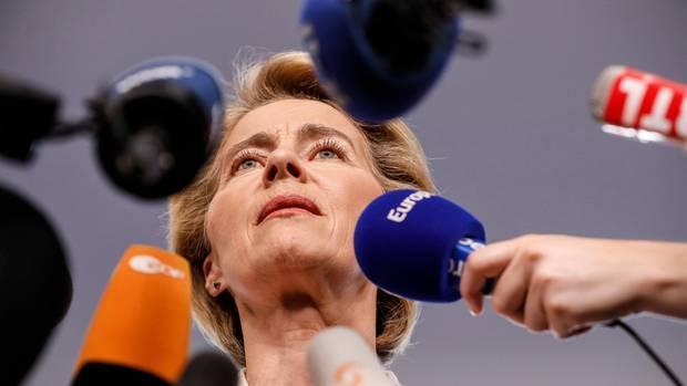 Ursula von der Leyen, Anwärterin auf den Posten der EU-Kommissionspräsidentin