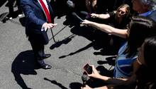 Donald Trump Weißes Haus 15. Juli