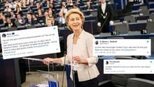 Ursula von der Leyen, Bewerberin um das Amt der EU-Kommissionspräsidentin