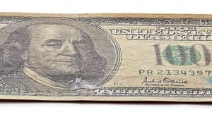 Gefälschte Dollarnote von Jürgen Kuhl