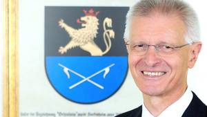 Der Hockenheimer Oberbürgermeister Dieter Gummer