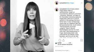 Instagram: Influencerin Louisa Dellert kassiert Shitstorm für Video