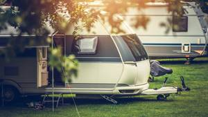 Ein Campingplatz als Symbolfoto für Nachrichten aus Deutschland