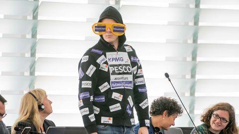 Nico Semsrott im EU-Parlament
