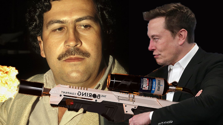 Ja, das ist Pablo Escobar und nicht Roberto, und ja, diese Situation hat so nie stattgefunden