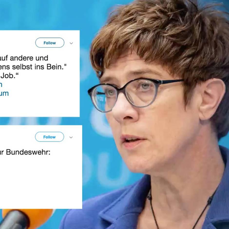 Neue Verteidigungsministerin: Kramp-Karrenbauer wird vereidigt – und muss schon bald eine wichtige Entscheidung treffen