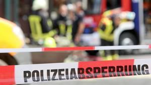 nachrichten aus deutschland polizeiabsperrung wegen feuerwehreinsatz