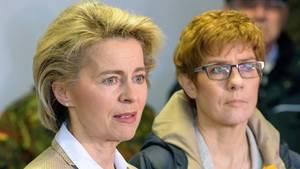 CDU-Chefin Kramp-Karrenbauer wird neue Verteidigungsministerin