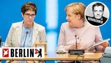 Angela Merkel bereitet Annegret Kramp-Karrenbauer mit dem Job als Verteidigungsministerin eine größere Bühne