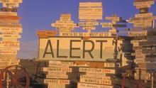 Die Militärbasis Alert auf Ellesmere Island in Nordkanada