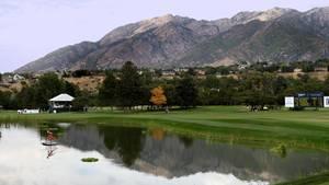 Golfplatz südlich von Salt Lake City