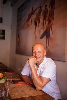 """Ronny Portulidis im """"Duke"""", seinem Restaurant"""