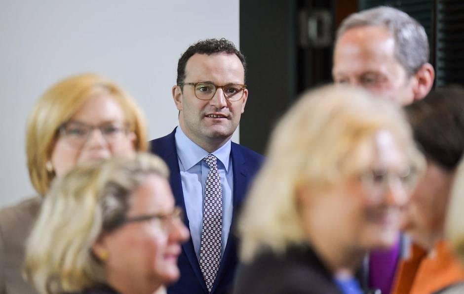 Masern-Impfpflicht kommt – Gesundheitsminister Spahn während einer Kabinettssitzung