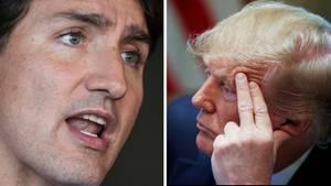 Justin Trudeau hat sich unmissverständlich zu Donald Trumps rassistischen Twitter-Attacken geäußert.