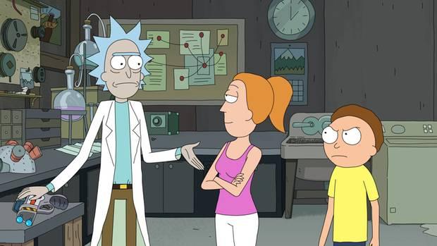 """Twitter: Erster Einblick in die neue Staffel """"Rick & Morty"""""""