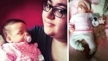 Lina Mikaelson und ihre Babypuppe Emilia
