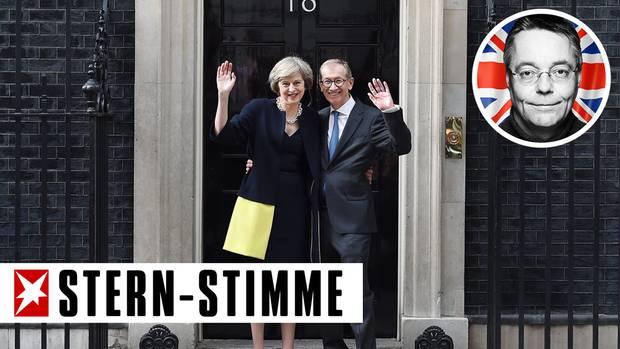 Theresa May und ihr Mann Philip